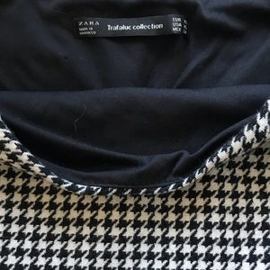 Zara Skirts - Zara houndstooth Skirt
